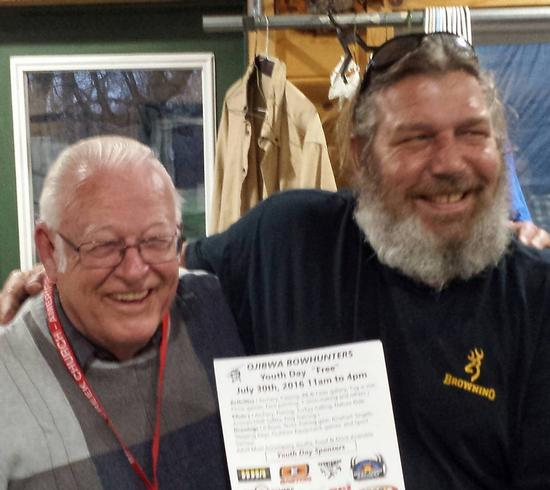 Grant to Ojibwa Bowhunters Club
