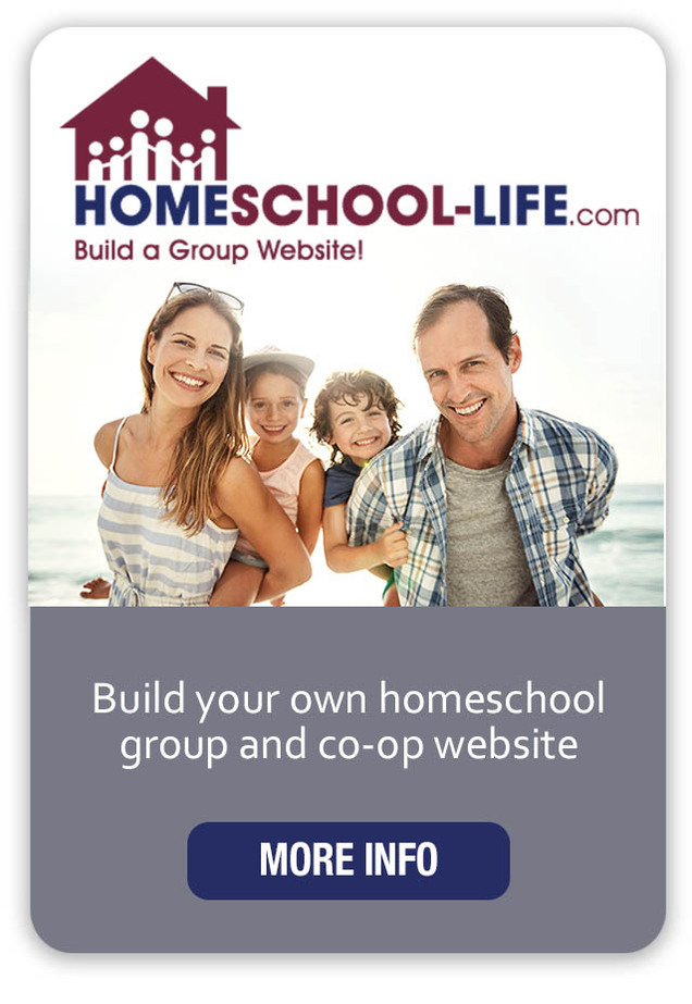 Homeschool-Life.com - Build your own homeschool group and co-op website.